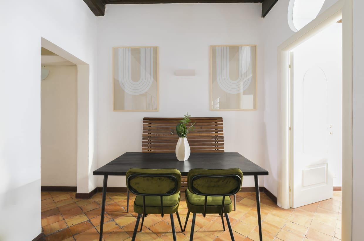 Two Bedroom Apartment in Rome